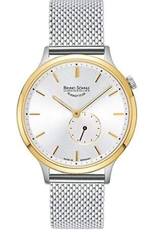 Soehnle Bruno Söhnle Damen Analog Quarz Uhr mit Edelstahl Armband 17-23213-240