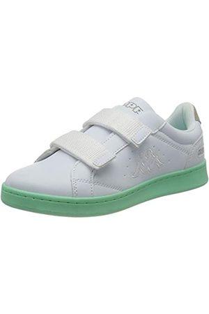 Kappa Damen Clave Sneaker, 1037 White/Mint