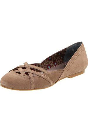 BC Footwear Crazy Like A Fox Damen Ballerinas, (Sand)