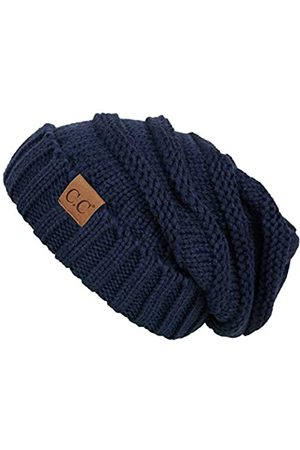 Funky JL Funky Junque's C.C. Trendy Warm Oversized Chunky Soft Oversized Cable Knit Slouchy Beanie