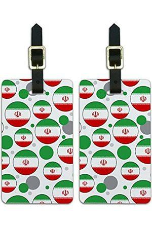 Graphics and More Graphics & More C-i-Iran Nationalflagge - Luggage.Tags.09601