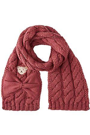 Steiff Mädchen mit süßer Teddybärapplikation Schal