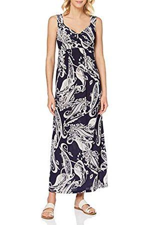 Mela Damen Flower Sketch Maxi Dress Lässiges Kleid
