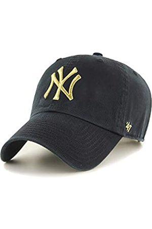 47 Brand Clean Up Strapback NY Yankees MTCLU17GWS-BK Gold