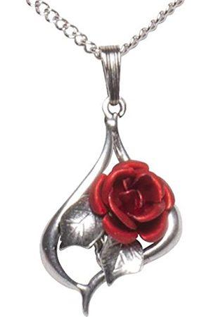 Schnabel Damen-Anhänger Rosenschmuck - Rose 065 rot