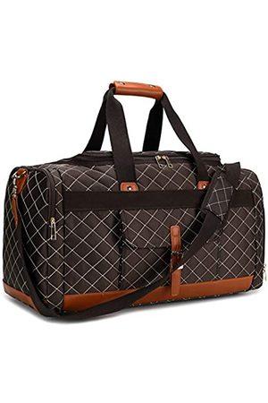 BLUBOON Weekender Reisetasche mit Schuhfach für Damen und Herren, Segeltuch, für Wochenende, Reisen