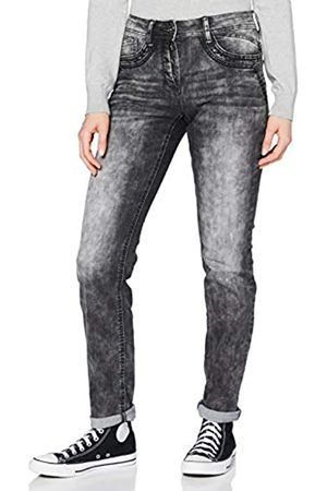 CECIL Damen 373558 Style Charlize Loose Fit Slim Legs Jeans