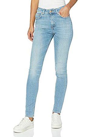 Won Hundred Damen Marilyn B Light Wave Blue Slim Jeans