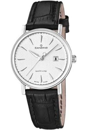 Candino Damen-Armbanduhr XS Analog Quarz Leder C4488/2