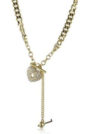 Jean Pierre Damen-Collier Herz Vergoldet Kristalle weiß 52 cm 4462