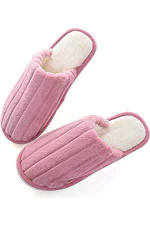 YinZhen Qin Unisex Winter Warme geschlossene Zehen Indoor Hausschuhe für Damen/Herren