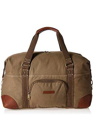 "Perry Ellis Unisex-Erwachsene 22"" Carry-on Weekender Canvas Duffel Bag Wochenend-Tasche"