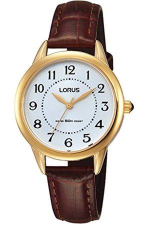 Lorus Watches Damen-Armbanduhr XS Klassik Analog Quarz Leder RG252JX9