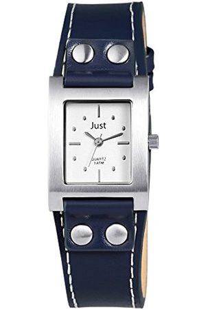 Just Watches Damen-Armbanduhr Analog Quarz Leder 48-S3929-SL