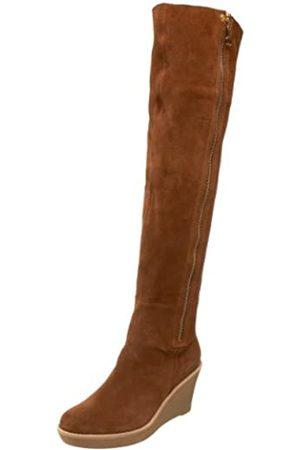 Daniblack Savannah Overknee-Stiefel für Damen, (Whiskey)