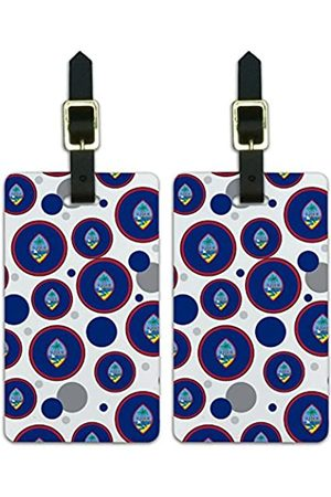 Graphics and More Graphics & More C-i-Guam Nationalflagge - Luggage.Tags.09588