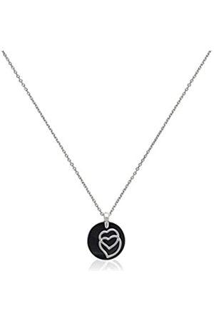 Ceranity Halskette mit Anhänger Sterling- 925 Keramik Diamant 0
