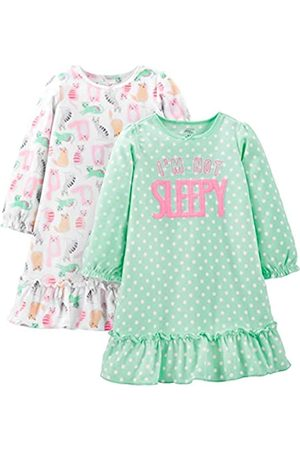 Simple Joys by Carter's 2-Pack Fleece Nightgown, Cats/Not Sleepy