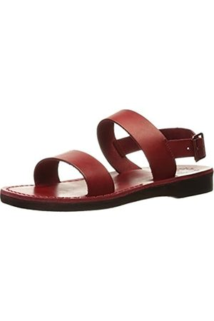 Jerusalem Sandals Damen Golan Gummi Flache Sandale