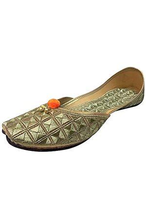 Step N Style Damen Khussa Schuhe Punjabi Jutti Rajasthani Joti Mojari Mojri