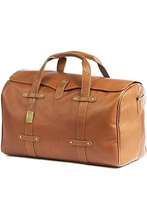 Claire Chase Lindy Duffel (Beige) - 308-Saddle