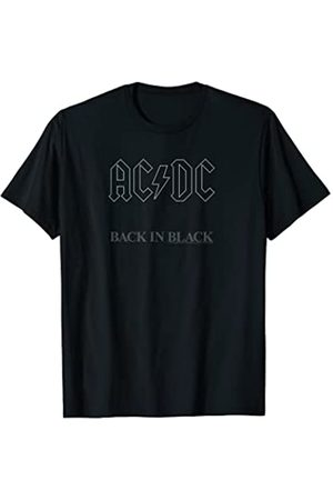 AC/DC Back in Black Album Artwork T-Shirt