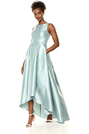 Adrianna Papell Damen High Low Mikado Ball Gown with V-Back Formales Abendkleid