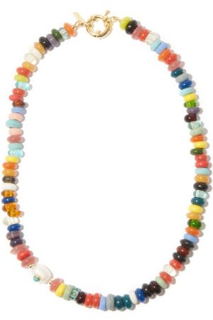 Eliou Beaded & Baroque-pearl -plated Necklace