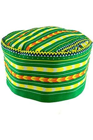 Vipada Handmade Afrikanische Dashiki-Hut, Kente-Muster, Kufi-Kofi-Hut