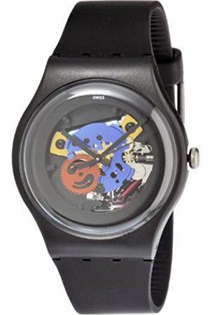 Swatch Unisex-Armbanduhr Analog SUOB101