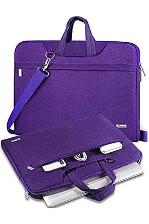 V Voova Laptoptasche mit Schultergurt, wasserdicht, kompatibel mit Razer Blade Pro, HP Envy Laptop, ThinkPad P72