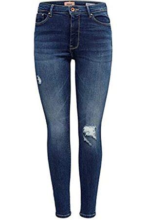 ONLY Damen Onlpaola Hw Sk des Jns Bb Az139941 Noos Skinny Jeans