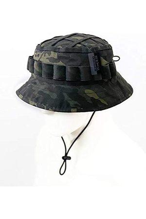 ZAPT Boonie Hut Military Camo Cap Hunter Sniper Ghillie Bucket Hüte Verstellbare Dschungel Buschhut - - Einheitsgröße