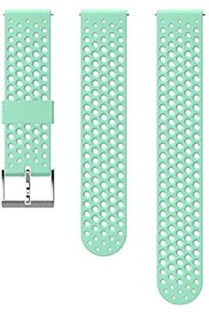 Suunto Ersatz-Uhrenarmband, für alle 3 Fitness Uhren, Silikon, Länge: 21,7 cm, Stegbreite: 20 mm, Blau/ , Inkl. Stifte zur Montage