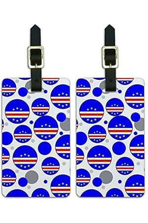 Graphics and More Graphics & More Cape Verde Nationalflagge - Luggage.Tags.09554