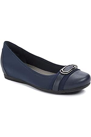 BareTraps Womens Markie Wedge Shoes 6.5 Blue