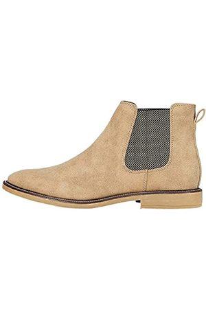 FIND Marsh Herren Chelsea Boots Stiefel, (Sand Nubuck Look)