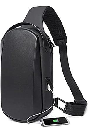 BanGe Herren Umhängetaschen - Schultertasche, wasserdicht, zum Wandern, Reisen, Schultertasche, sicherer Schutz, Hartschale