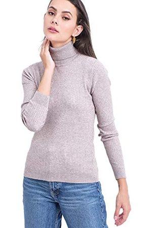 Bonamaison Damen Rib Turtleneck Sweater T-Shirt