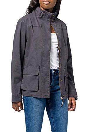 HIKARO Amazon-Marke: Damen Jacke mit Stehkragen, 36