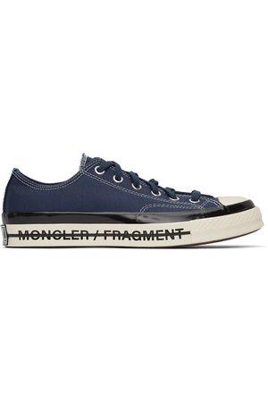 Moncler Genius 7 Moncler Fragment Hiroshi Fujiwara Navy Fraylor III Chuck 70 Sneakers