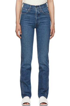 CO Indigo High-Rise Jeans