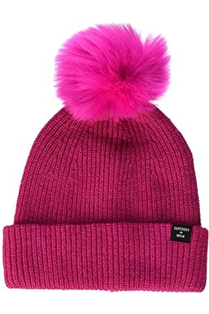 Superdry Womens Heritage Ribbed Beanie Hat