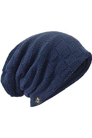 HISSHE Herren Oversize Skull Slouch Beanie Large Skullcap Knit Hat - - Einheitsgröße