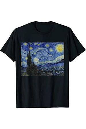 Vintage Images Vincent Van Gogh 's Starry Night Retro T-Shirt