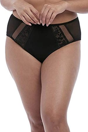 Elomi Damen Roxanne Sexy Sheer Vinyl-Look Cheeky Brief Unterhosen, Jungen