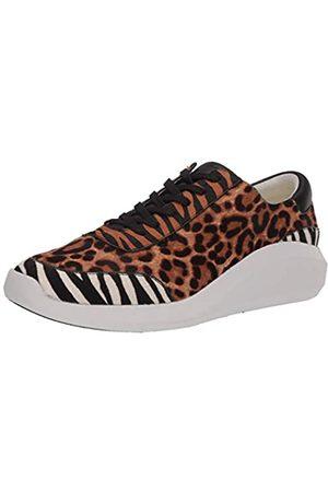 Kenneth Cole New York Damen Schnürschuh Sneaker, Mehrere (Naturfarben/Mehrfarbig)
