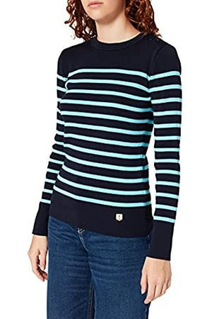 Armor.lux Damen Pull Groix'' Pullover, Marine Deep/Rivage