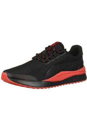 PUMA Unisex-Kid's Pacer Next Sneaker, Black-high Risk Red