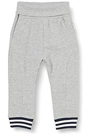 Sanetta Baby-Jungen Grey Mel. Sportliche Hose inmelange für kleine Kidswear aus warmem Fleece